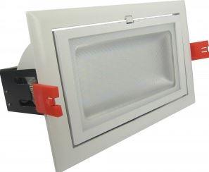stech led shop light rectangle