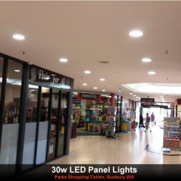 Shopping Centre upgrades to LED Downlights