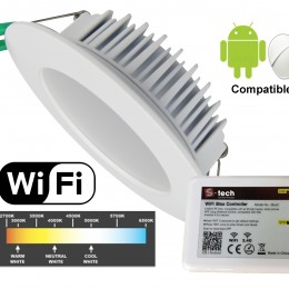 WiFi Controlled Down Lights – NOW HERE!