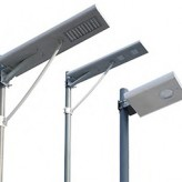 New Product – Integrated Solar/LED Street Lights