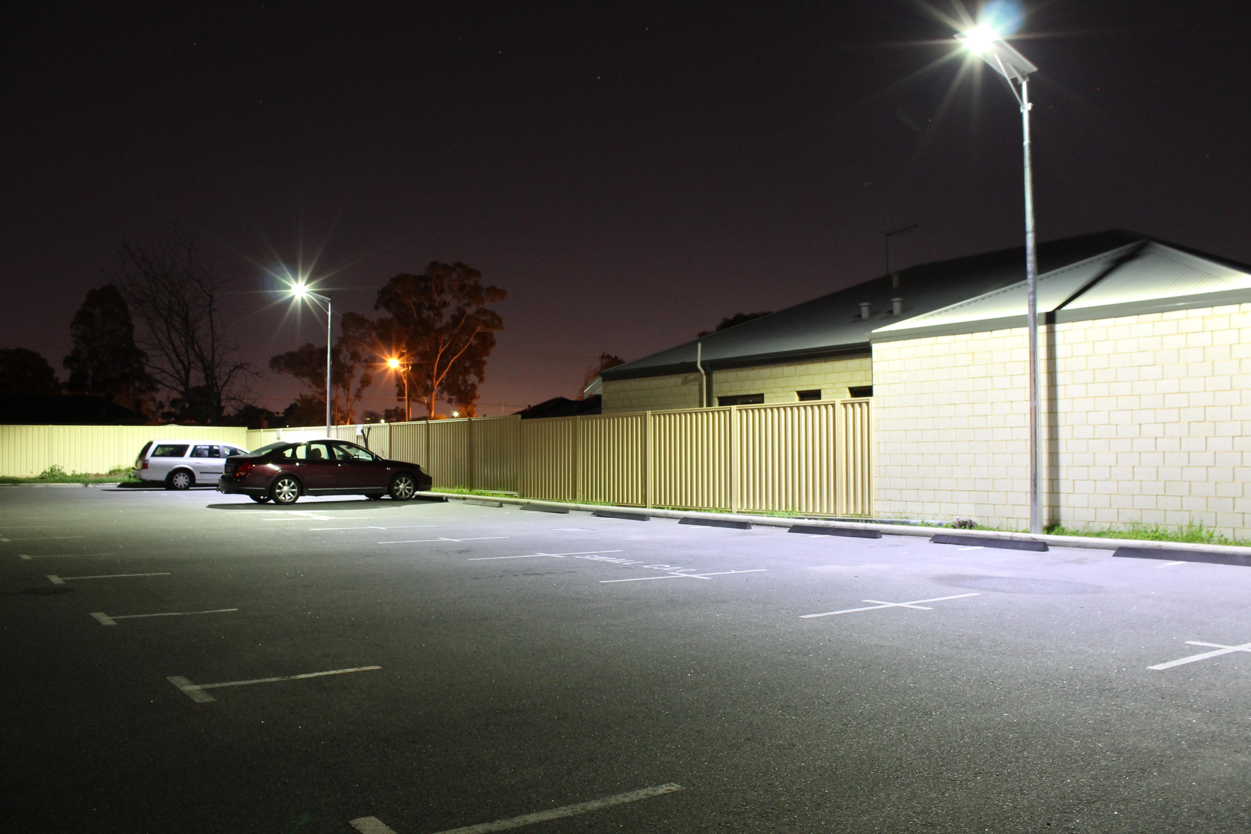 60w Integrated Led Solar Flood Light S Tech Holdings