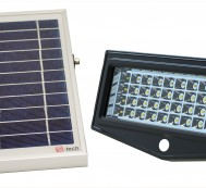 Solar Sensor Security Light