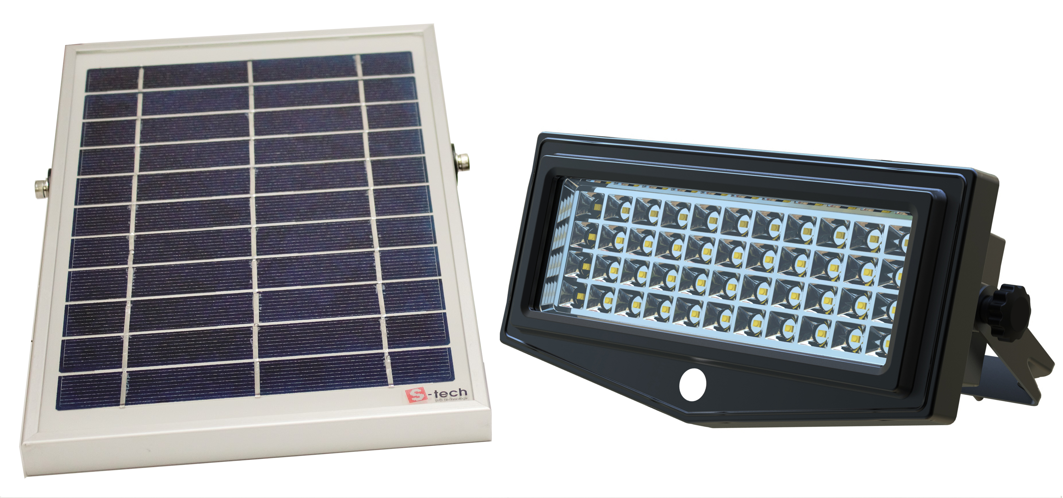light lighting solar security pir led with