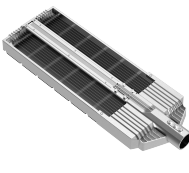 180w ST LED Streetlight - Rear - SL-180W-V