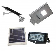 LED Solar Flood & Pathway Lights