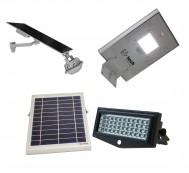 LED Solar Flood & Pathway Lights