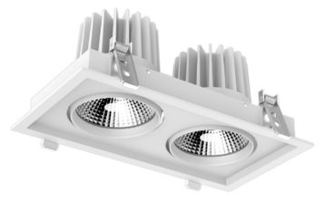 Twin 30w Shop Light - 310 x 160mm_1