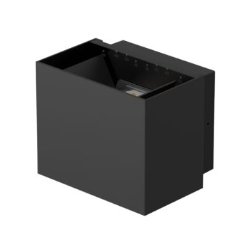 CUBE10 led wall light - black